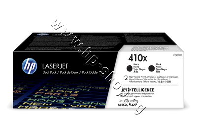 CF410XD Тонер HP 410X за M377/M452/M477 2-pack, Black (2x6.5K)
