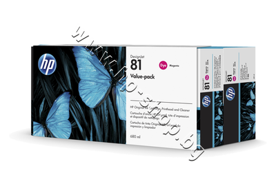 C4992A Комплект HP 81, Magenta (680 ml)
