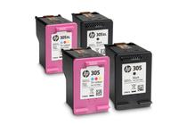 Мастила и глави за мастиленоструйни принтери » Касета HP 305, Tri-color