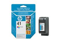 Мастила и глави за мастиленоструйни принтери » Касета HP 41, Tri-color