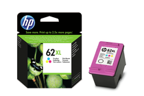 Мастила и глави за мастиленоструйни принтери » Касета HP 62XL, Tri-color