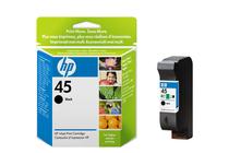 Мастила и глави за мастиленоструйни принтери » Касета HP 45, Black