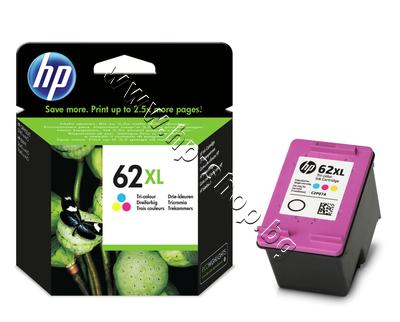 C2P07AE Касета HP 62XL, Tri-color