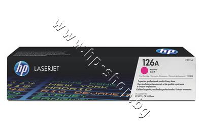 CE313A Тонер HP 126A за CP1025/M175/M275, Magenta (1K)