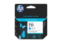 Мастила и глави за широкоформатни принтери » Мастило HP 711 3-pack, Cyan (3x29 ml)