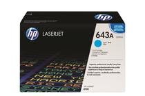 Тонер касети и тонери за цветни лазерни принтери » Тонер HP 643A за 4700, Cyan (10K)