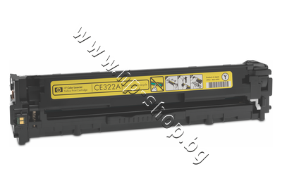 CE322A Тонер HP 128A за CM1415/CP1525, Yellow (1.3K)