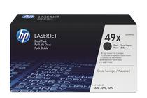 Тонер касети и тонери за лазерни принтери » Тонер HP 49X за 1320/3390 2-pack (2x6K)