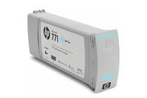 Мастила и глави за широкоформатни принтери » Мастило HP 771C, Light Cyan (775 ml)