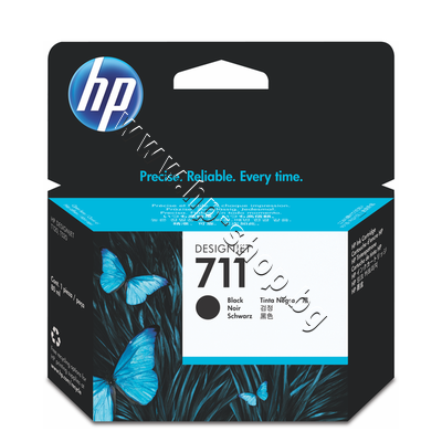 CZ133A Мастило HP 711, Black (80 ml)