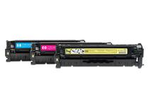 Тонер касети и тонери за цветни лазерни принтери » Тонер HP 304A за CP2025/CM2320 3-pack, 3 цвята (3x2.8K)