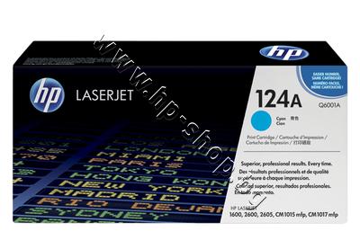 Q6001A Тонер HP 124A за 1600/2600, Cyan (2K)