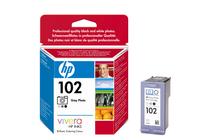 Мастила и глави за мастиленоструйни принтери » Касета HP 102, Grey Photo