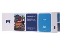 Мастила и глави за широкоформатни принтери » Комплект за DJ CP Dye, Cyan (410 ml)