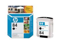 Мастила и глави за широкоформатни принтери » Мастило HP 84, Black (69 ml)