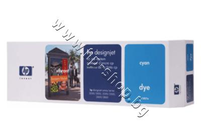 C1807A Комплект за DJ CP Dye, Cyan (410 ml)
