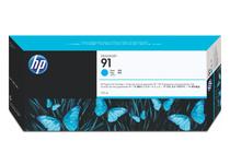 Мастила и глави за широкоформатни принтери » Мастило HP 91, Cyan (775 ml)