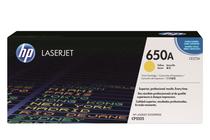 Тонер касети и тонери за цветни лазерни принтери » Тонер HP 650A за CP5525/M750, Yellow (15K)