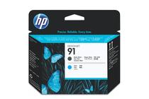 Мастила и глави за широкоформатни принтери » Глава HP 91, Matte Black + Cyan