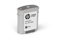 Мастила и глави за широкоформатни принтери » Мастило HP 727, Grey (40 ml)