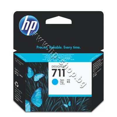 CZ130A Мастило HP 711, Cyan (29 ml)