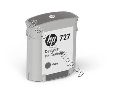 B3P18A Мастило HP 727, Grey (40 ml)
