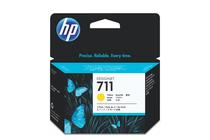 Мастила и глави за широкоформатни принтери » Мастило HP 711 3-pack, Yellow (3x29 ml)
