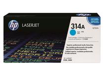 Тонер касети и тонери за цветни лазерни принтери » Тонер HP 314A за 2700/3000, Cyan (3.5K)