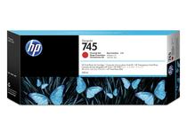 Мастила и глави за широкоформатни принтери » HP Мастило No.745, Chromatic Red 300 ml