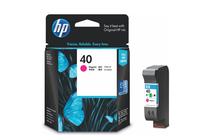 Мастила и глави за мастиленоструйни принтери » Касета HP 40, Magenta