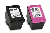 Мастила и глави за мастиленоструйни принтери » Касета HP 302 combo 2-pack, 4 цвята