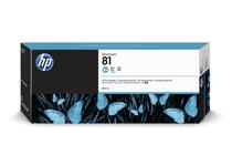 Мастила и глави за широкоформатни принтери » Мастило HP 81, Cyan (680 ml)