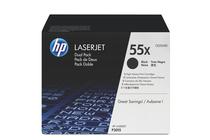 Тонер касети и тонери за лазерни принтери » Тонер HP 55X за P3015/M521/M525 2-pack (2x12.5K)