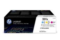 Тонер касети и тонери за цветни лазерни принтери » Тонер HP 201X за M252/M274/M277 3-pack, 3 цвята (3x2.3K)