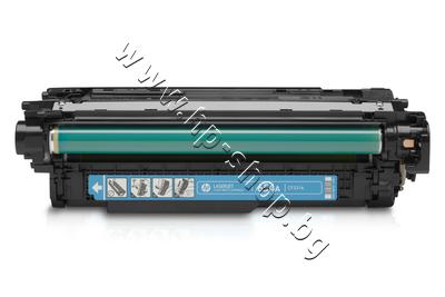 CF331A Тонер HP 654A за M651, Cyan (15K)