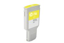 Мастила и глави за широкоформатни принтери » Мастило HP 730, Yellow (300 ml)