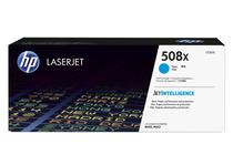 Тонер касети и тонери за цветни лазерни принтери » Тонер HP 508X за M552/M553/M577, Cyan (9.5K)
