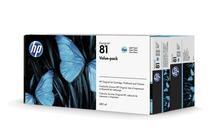 Мастила и глави за широкоформатни принтери » Комплект HP 81, Light Cyan (680 ml)