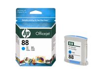 Мастила и глави за мастиленоструйни принтери » Мастило HP 88, Cyan