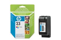 Мастила и глави за мастиленоструйни принтери » Касета HP 23, Tri-color