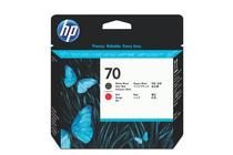 Мастила и глави за широкоформатни принтери » Глава HP 70, Matte Black + Red