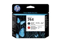 Мастила и глави за широкоформатни принтери » Глава HP 744, Matte Black + Chromatic Red