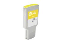 Мастила и глави за широкоформатни принтери » Мастило HP 746, Yellow (300 ml)