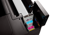 Мастила и глави за<br>широкоформатни<br>принтери