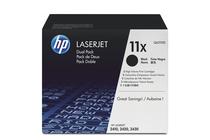 Тонер касети и тонери за лазерни принтери » Тонер HP 11X за 2410/2420/2430 2-pack (2x12K)