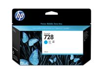 Мастила и глави за широкоформатни принтери » Мастило HP 728, Cyan (130 ml)