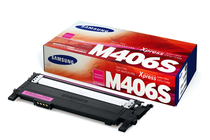 Тонер касети и тонери за цветни лазерни принтери Samsung » Тонер Samsung CLT-M406S за SL-C410/C460, Magenta (1K)