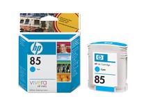 Мастила и глави за широкоформатни принтери » Мастило HP 85, Cyan (28 ml)