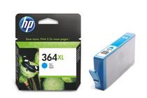 Мастила и глави за мастиленоструйни принтери » Мастило HP 364XL, Cyan