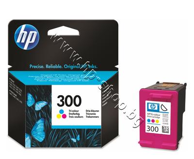 CC643EE Касета HP 300, Tri-color